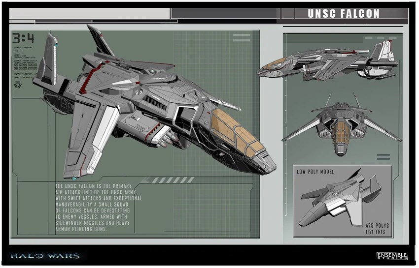 Falcon Fighter Halo Nation FANDOM Powered By Wikia