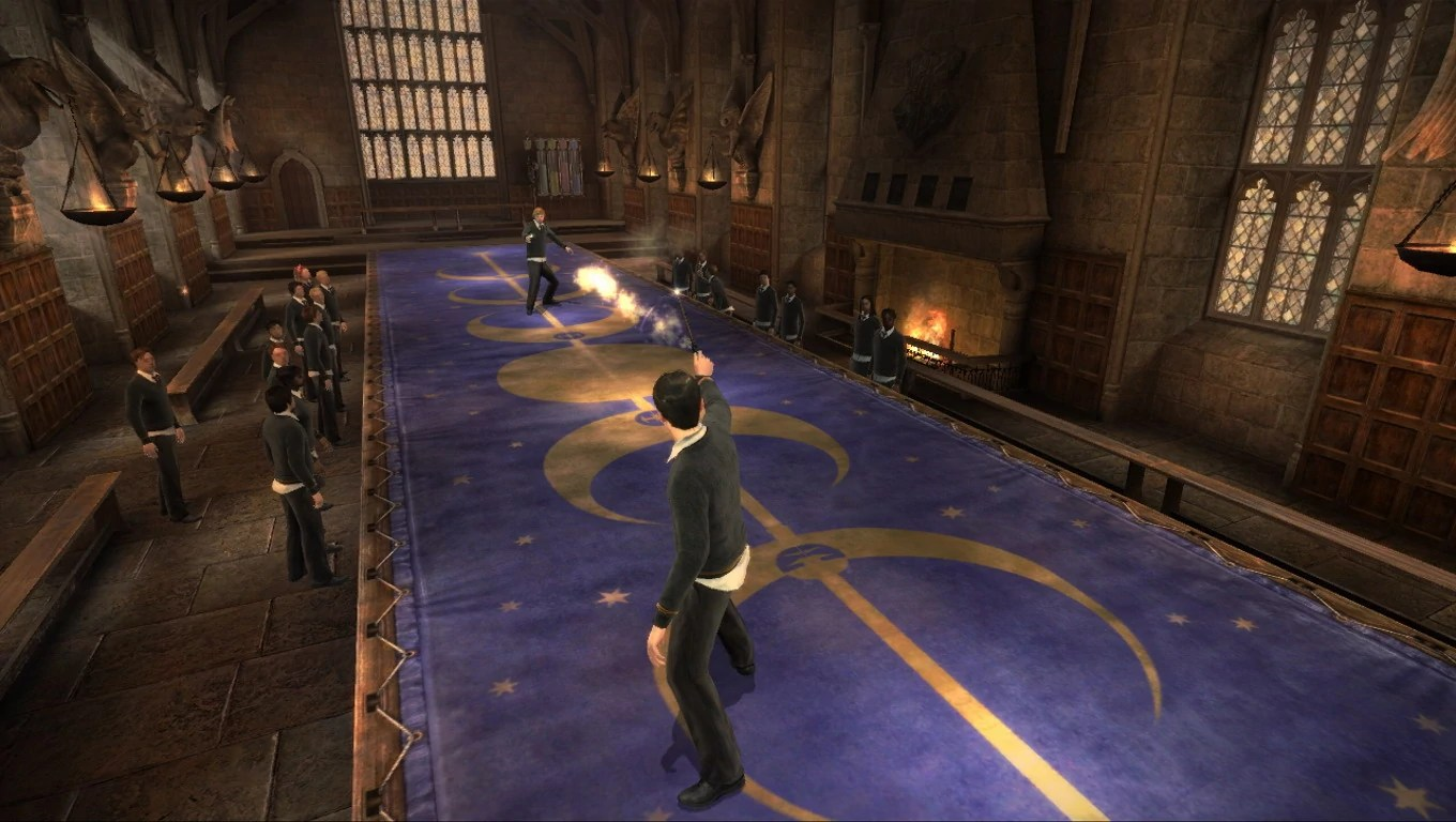Image   Hp hbp duel 2 jpg   Harry Potter Wiki   FANDOM powered by Wikia Hp hbp duel 2 jpg