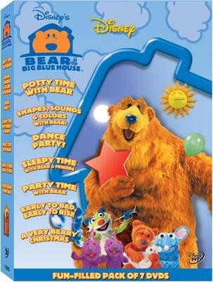 Bear In The Big Blue House DVD Release Idea Wiki
