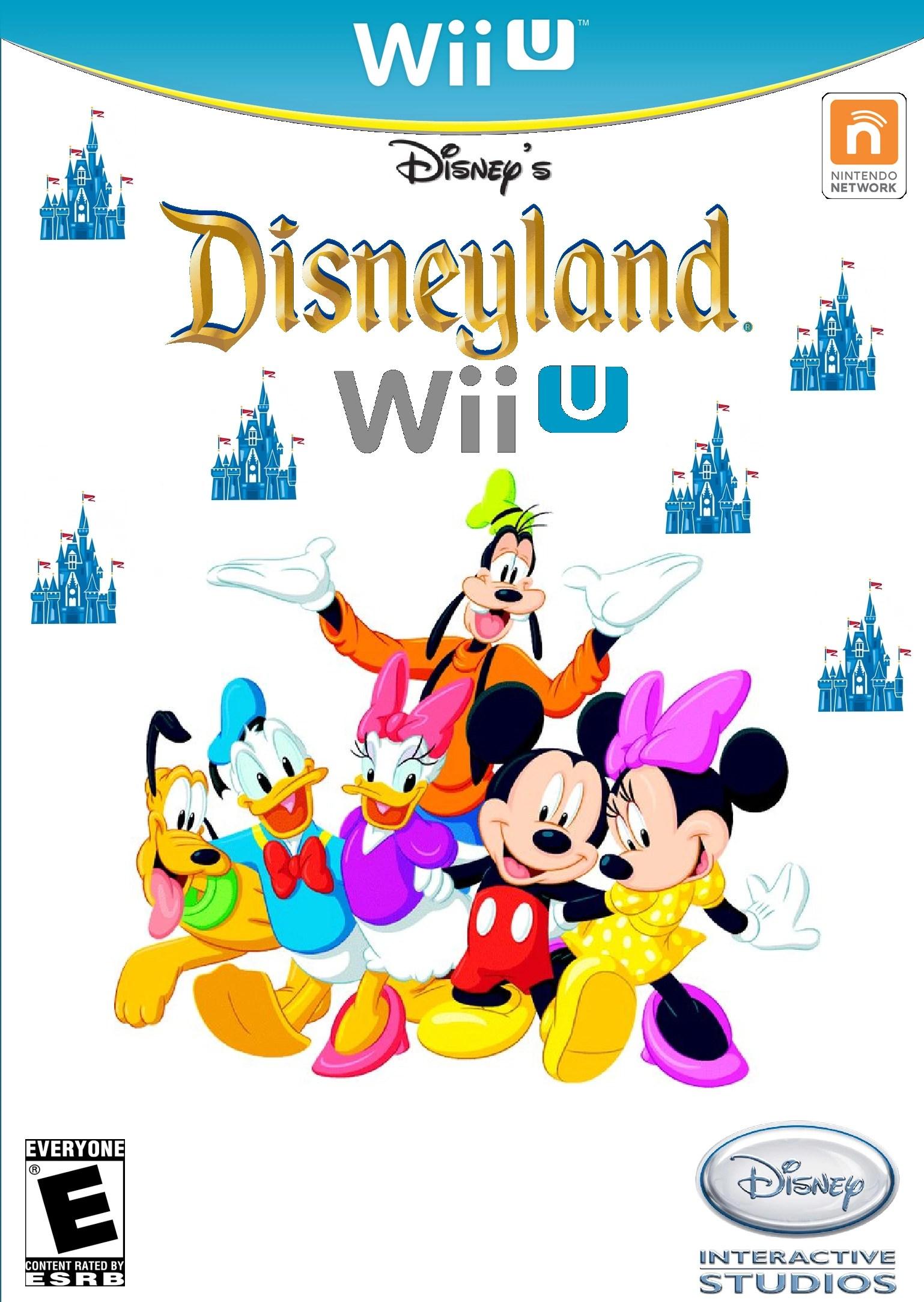 Disneys Disneyland Wii U Idea Wiki FANDOM Powered By Wikia