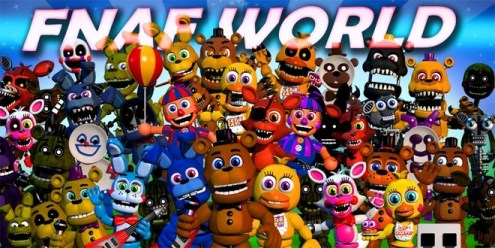 FNAF World   Jacksepticeye Wiki   FANDOM powered by Wikia FNaF World