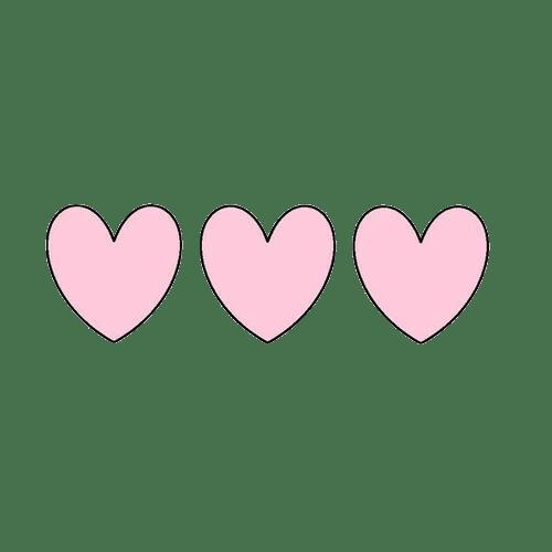 Pink Hearts Josemulinohouseco