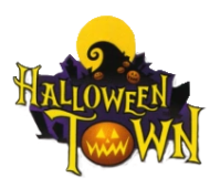 sign halloween town drawing