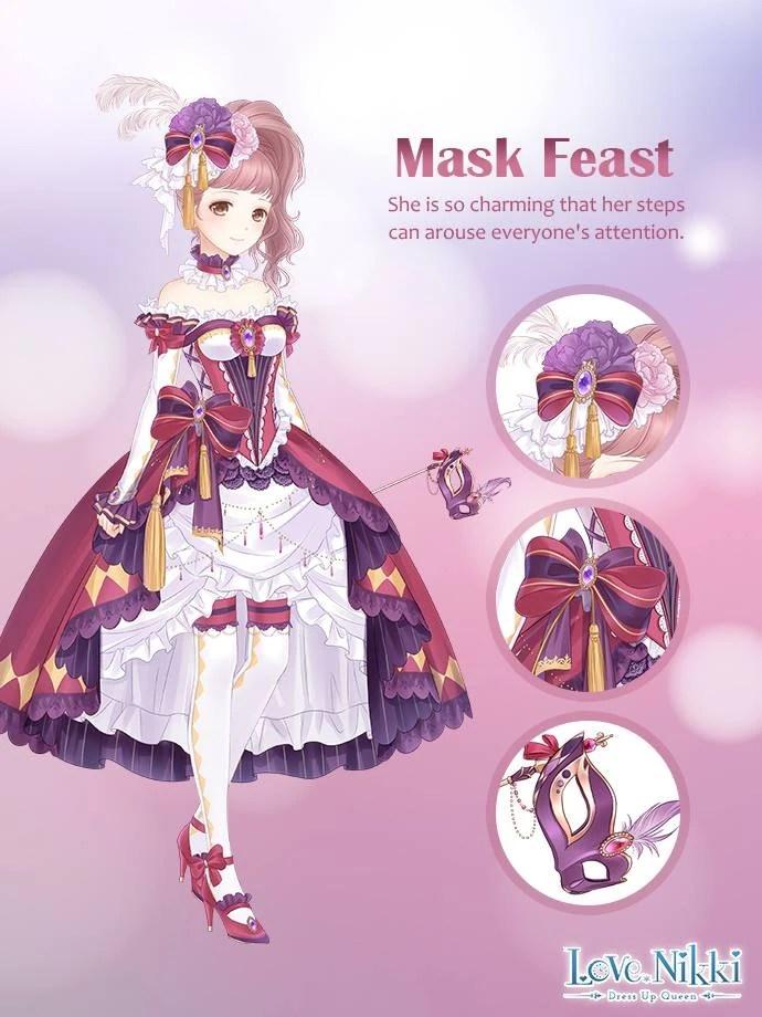 Mask Feast Love Nikki Dress Up Queen Wiki Fandom
