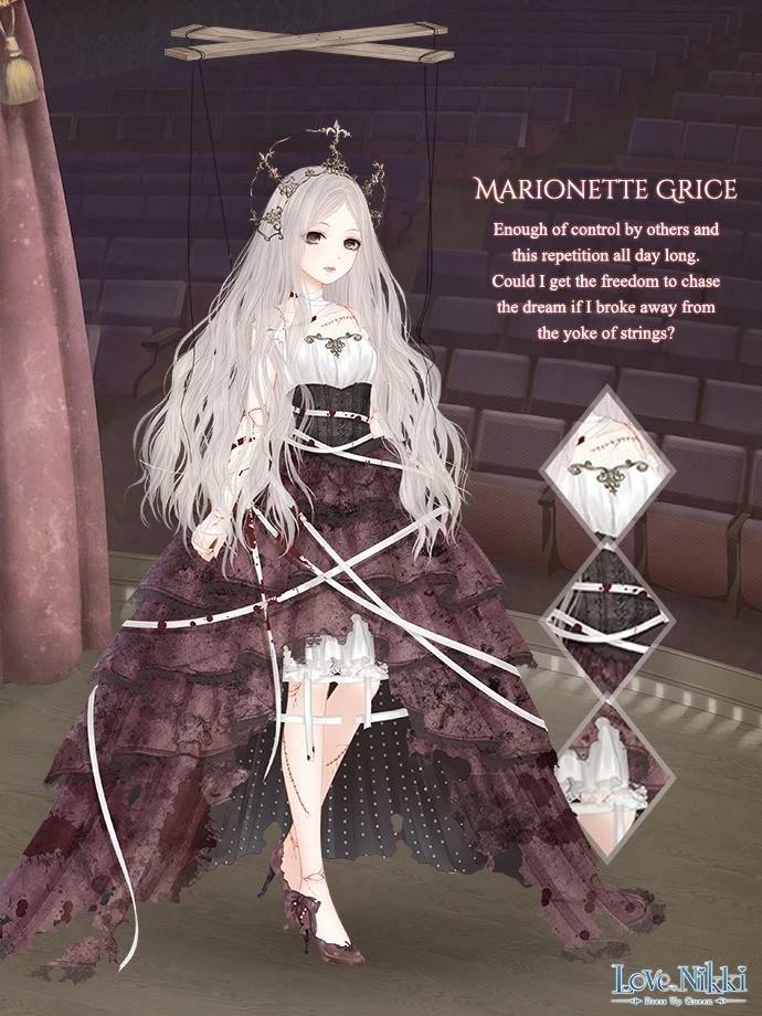 Marionette Grice Love Nikki Dress UP Queen Wiki