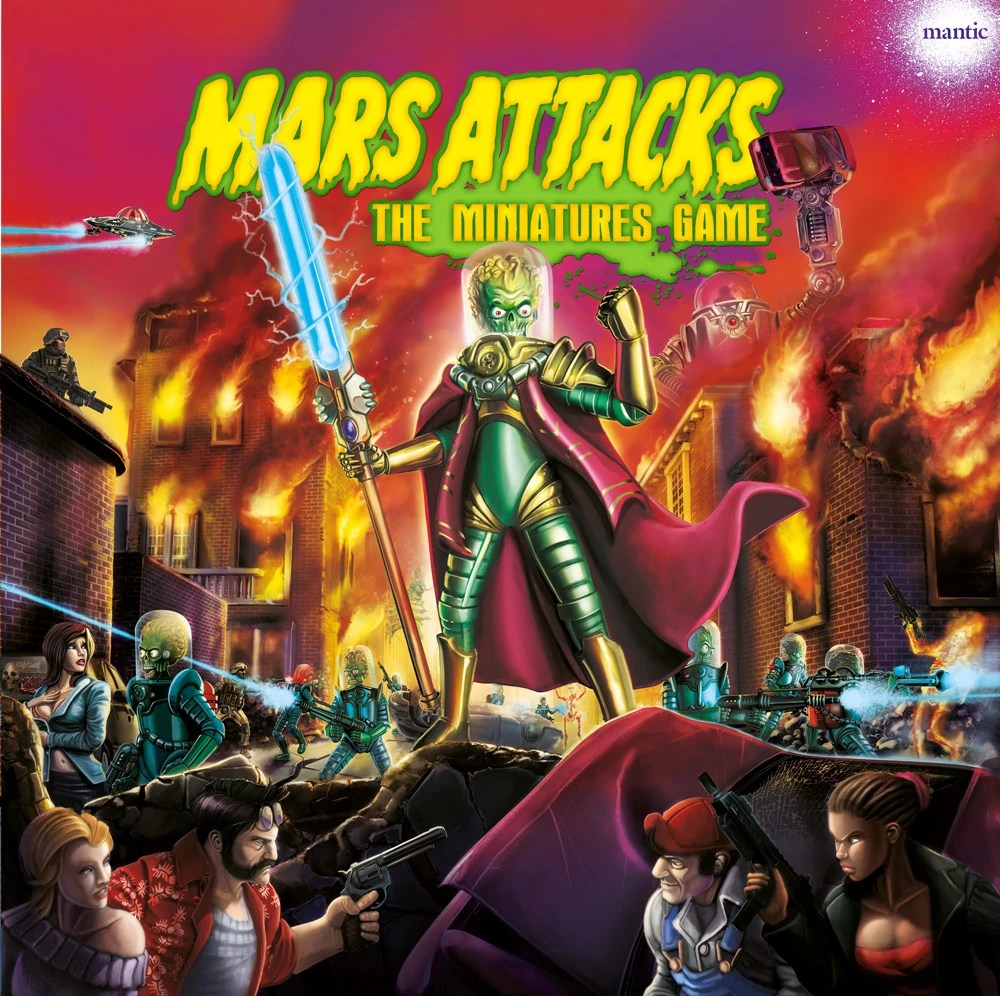 Mars Attacks - The Miniatures Game | ManticGames Wiki ...