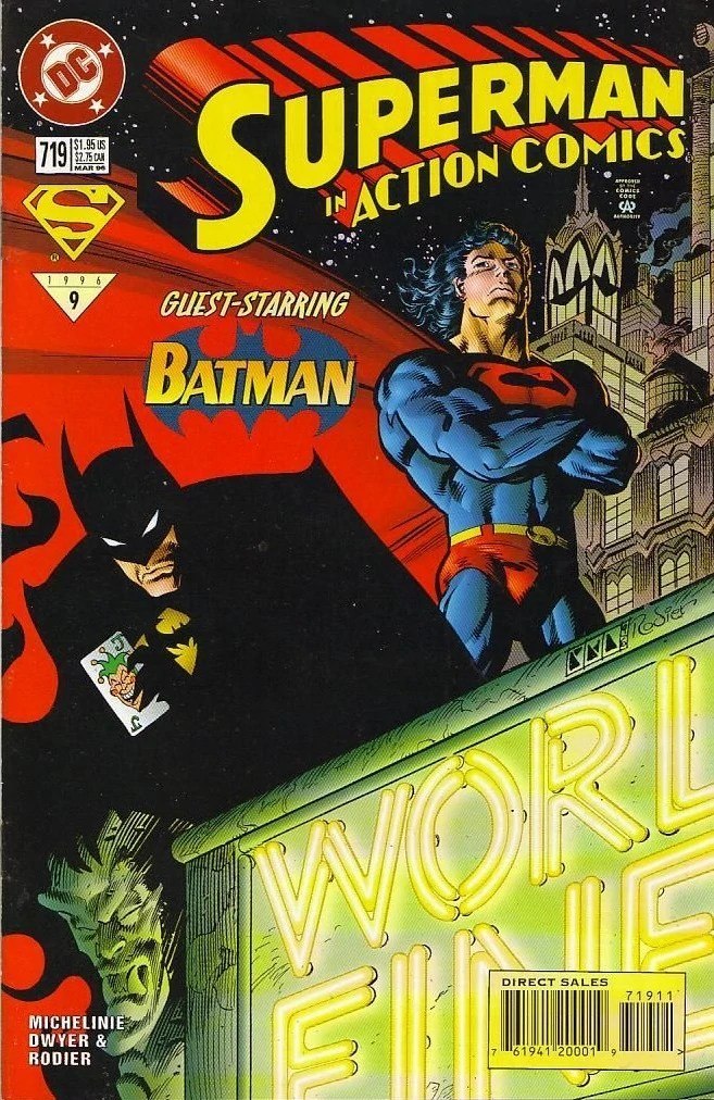 Action Comics Vol 1 719   DC Database   FANDOM powered by ...