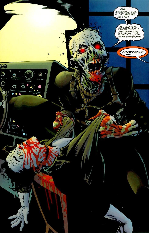 Scarecrow Earth 40Gallery DC Database FANDOM