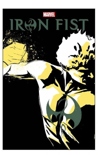 And White Iron Poster Fist Netflix Black