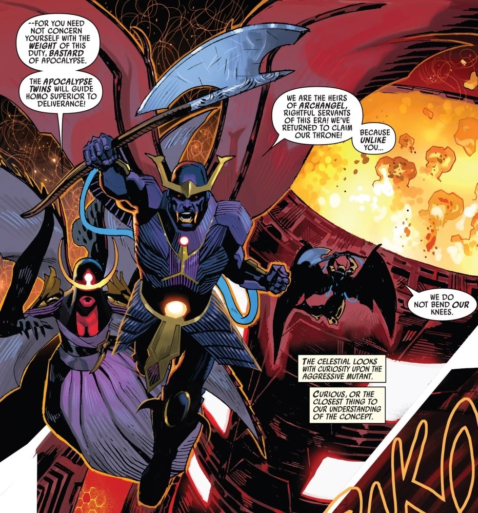 Apocalypse Twins Earth 616Gallery Marvel Database