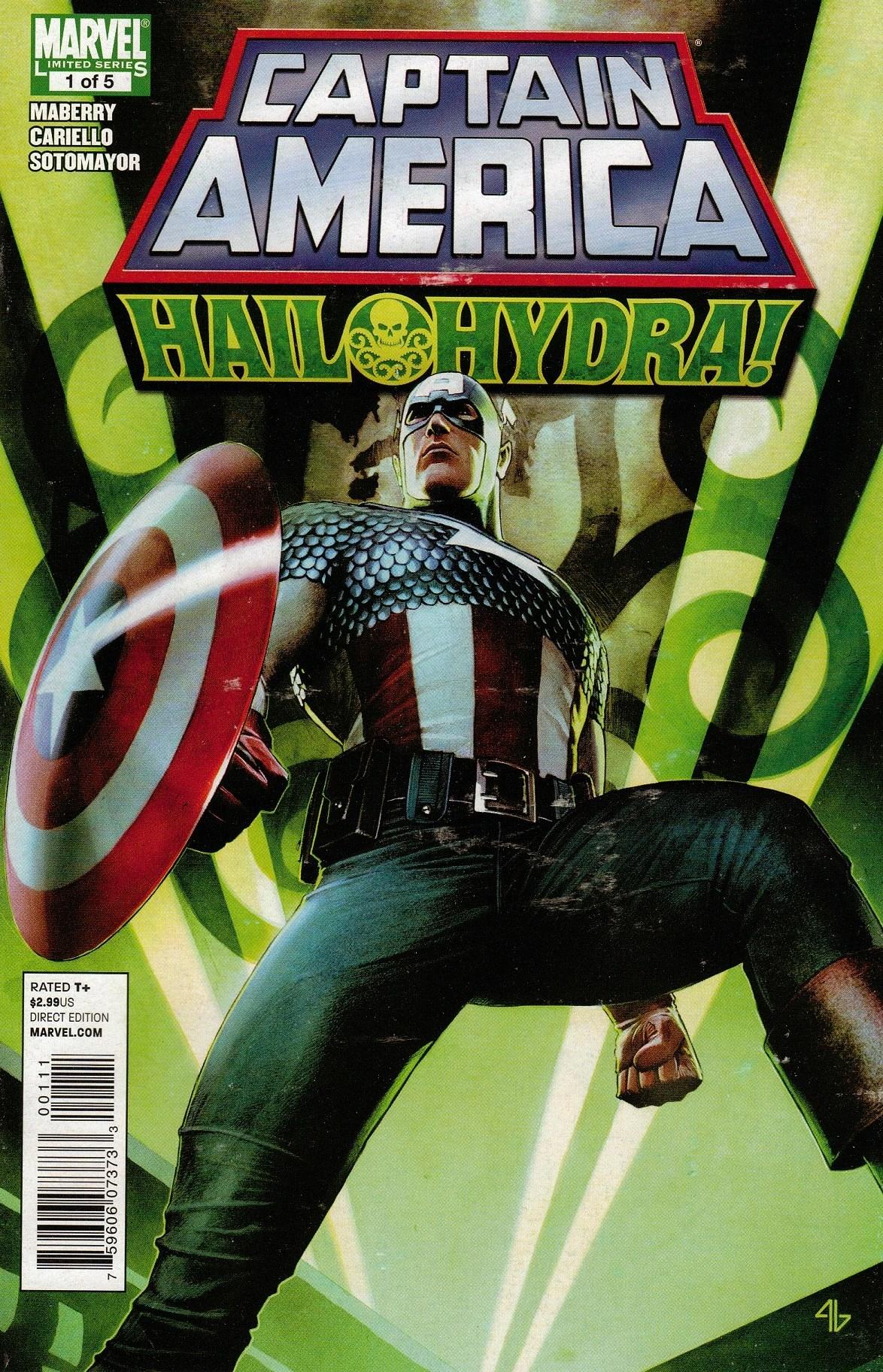 Captain America Hail Hydra Vol 1 1 Marvel Database