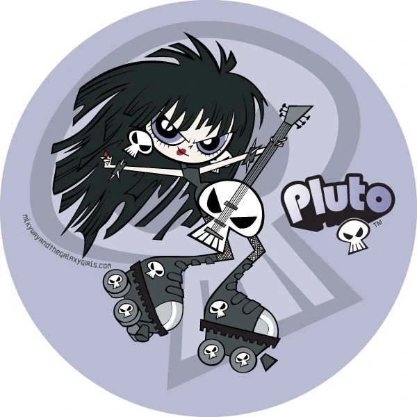 Pluto | Milky Way and the Galaxy Girls Wiki | FANDOM ...