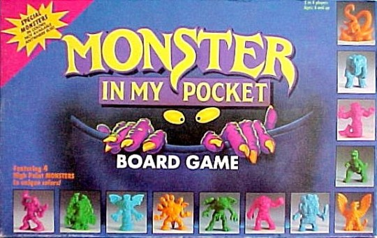 Monster in My Pocket  Board Game    Monster in My Pocket Wiki     Monster in My Pocket  Board Game