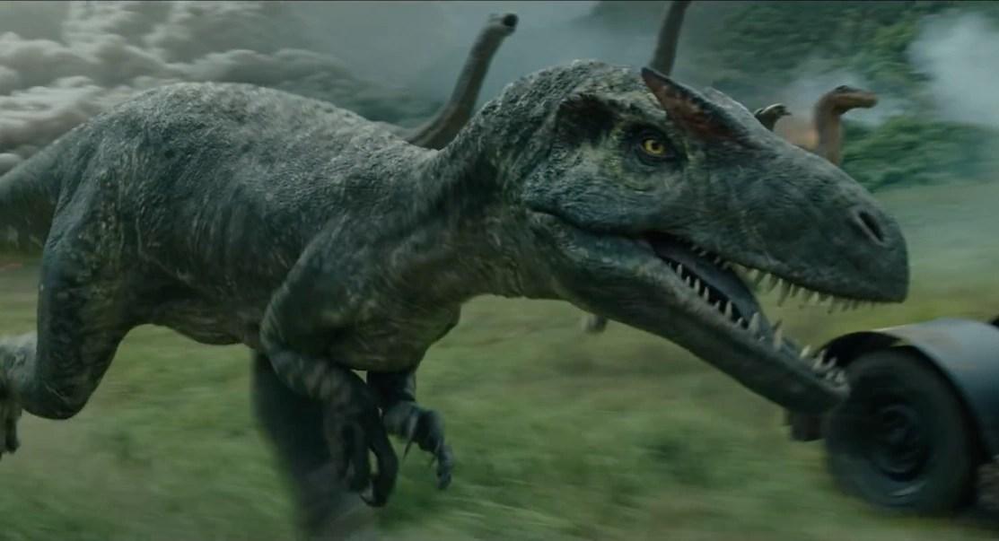 Allosaurus Jurassic Park Non Alien Creatures Wiki