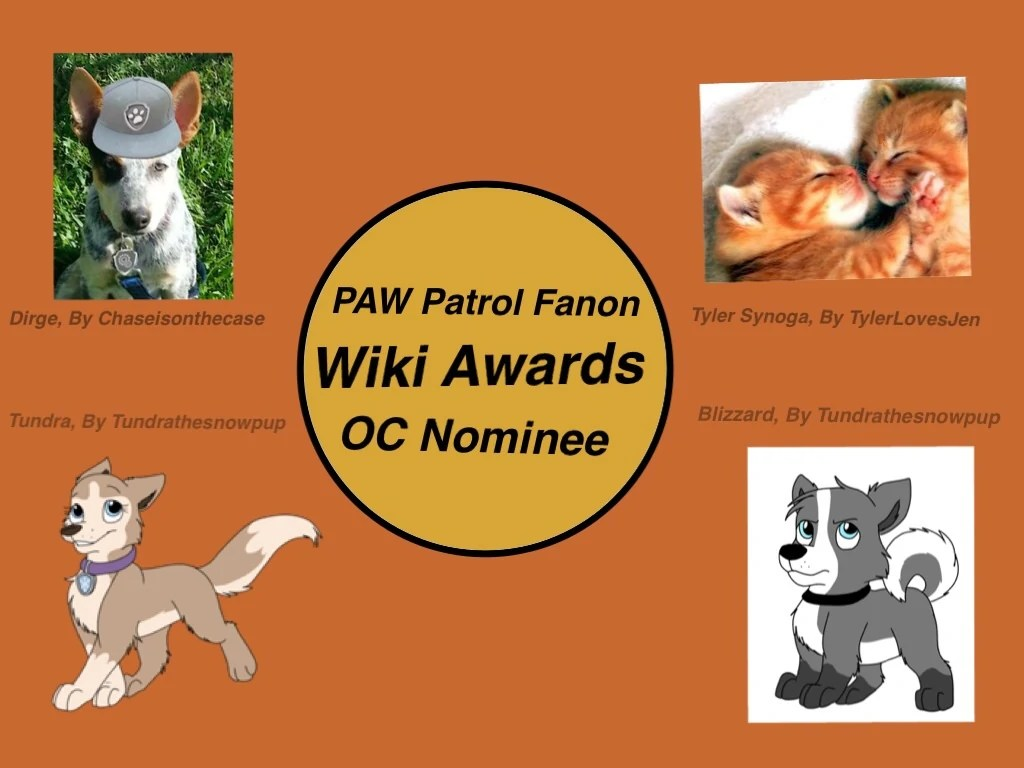 Image Pawpatrolfanonwikiawardsocnominee Paw Patrol Fanon