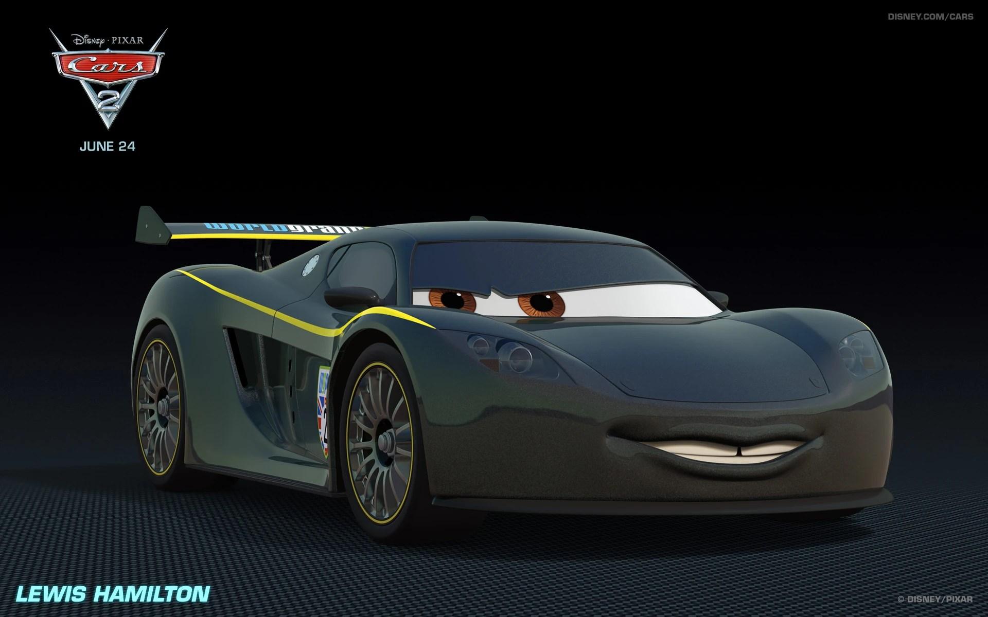 Lewis Hamilton Car Pixar Wiki Fandom Powered By Wikia