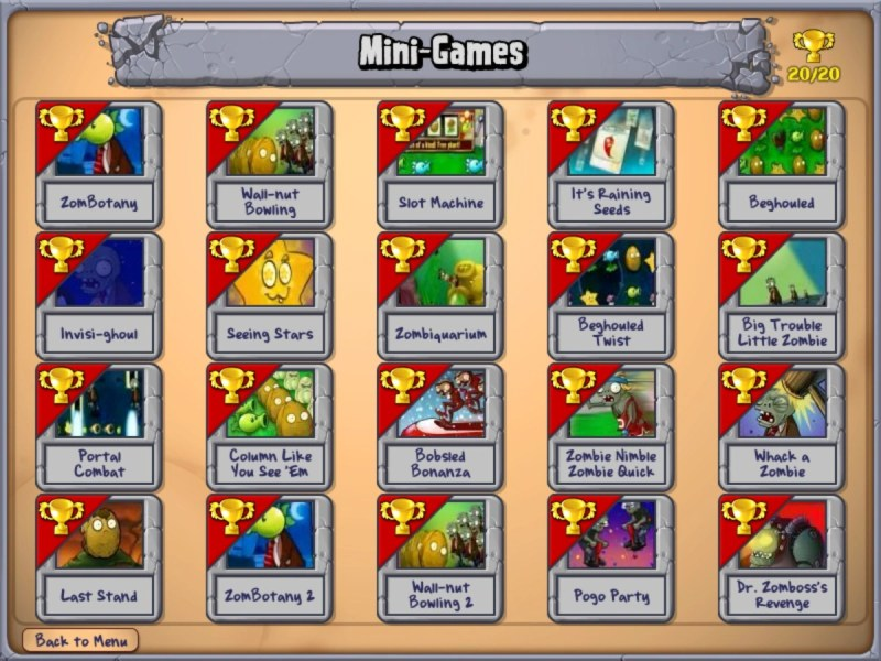 Image   Mod Mini games png   Plants vs  Zombies Wiki   FANDOM     Mod Mini games png