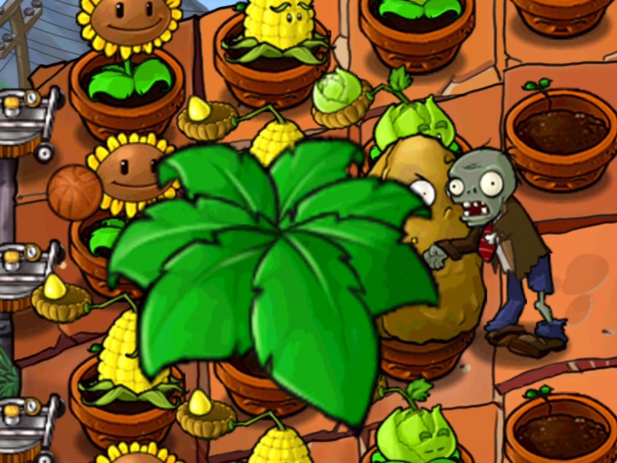 Vszombies Umbrella Leaf Plants