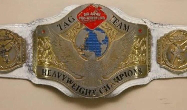 BJW Tag Team Championship   Puroresu System Wiki   FANDOM ...