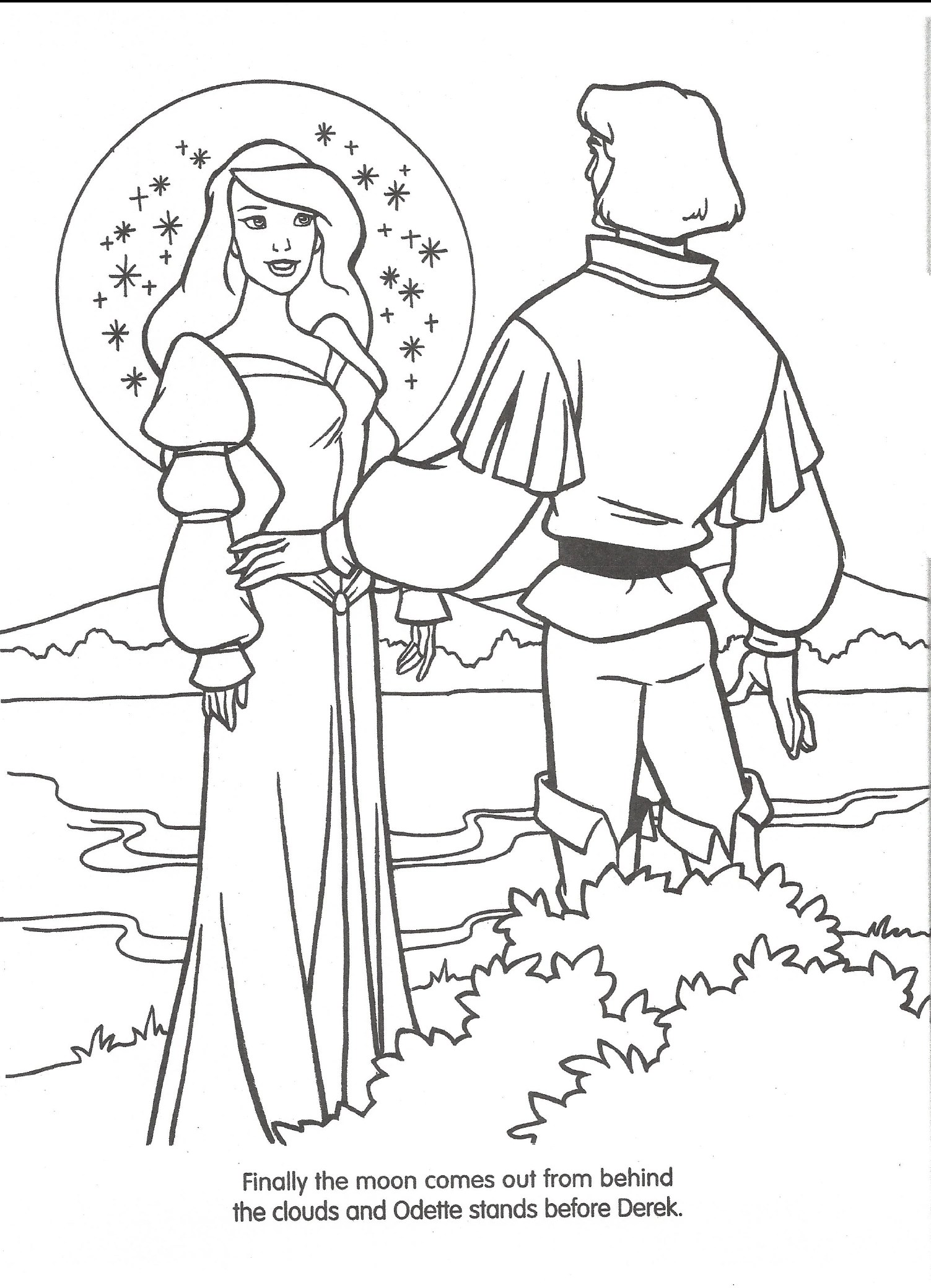 Image Swan Princess Official Coloring Page 35 Richard Rich