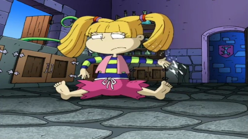 Angelica Button Rugrats Belly