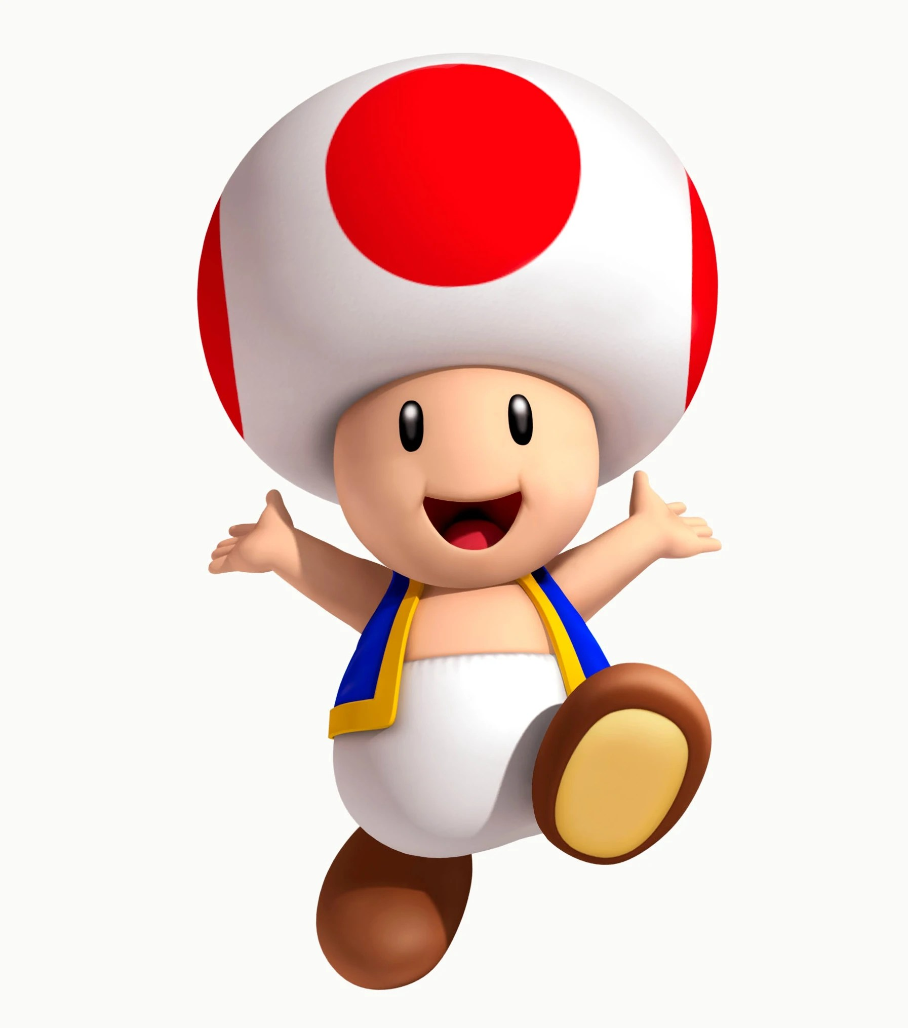 Super Toad Mario Crying
