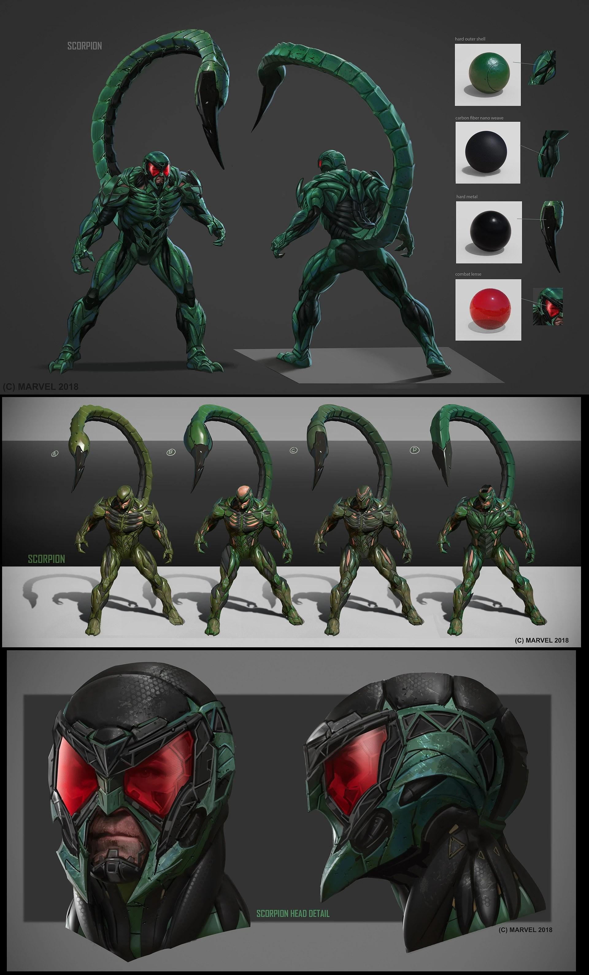 Scorpion Marvel S Spider Man Wiki Fandom Powered By Wikia