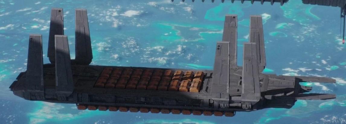 Eta Class Supply Barge Wookieepedia FANDOM Powered By