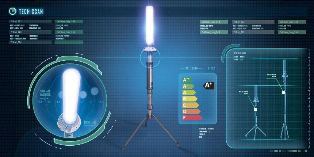 Battery Powered Light Bulb
