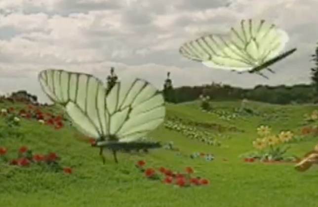 Animal Teletubbies Parade Butterfly