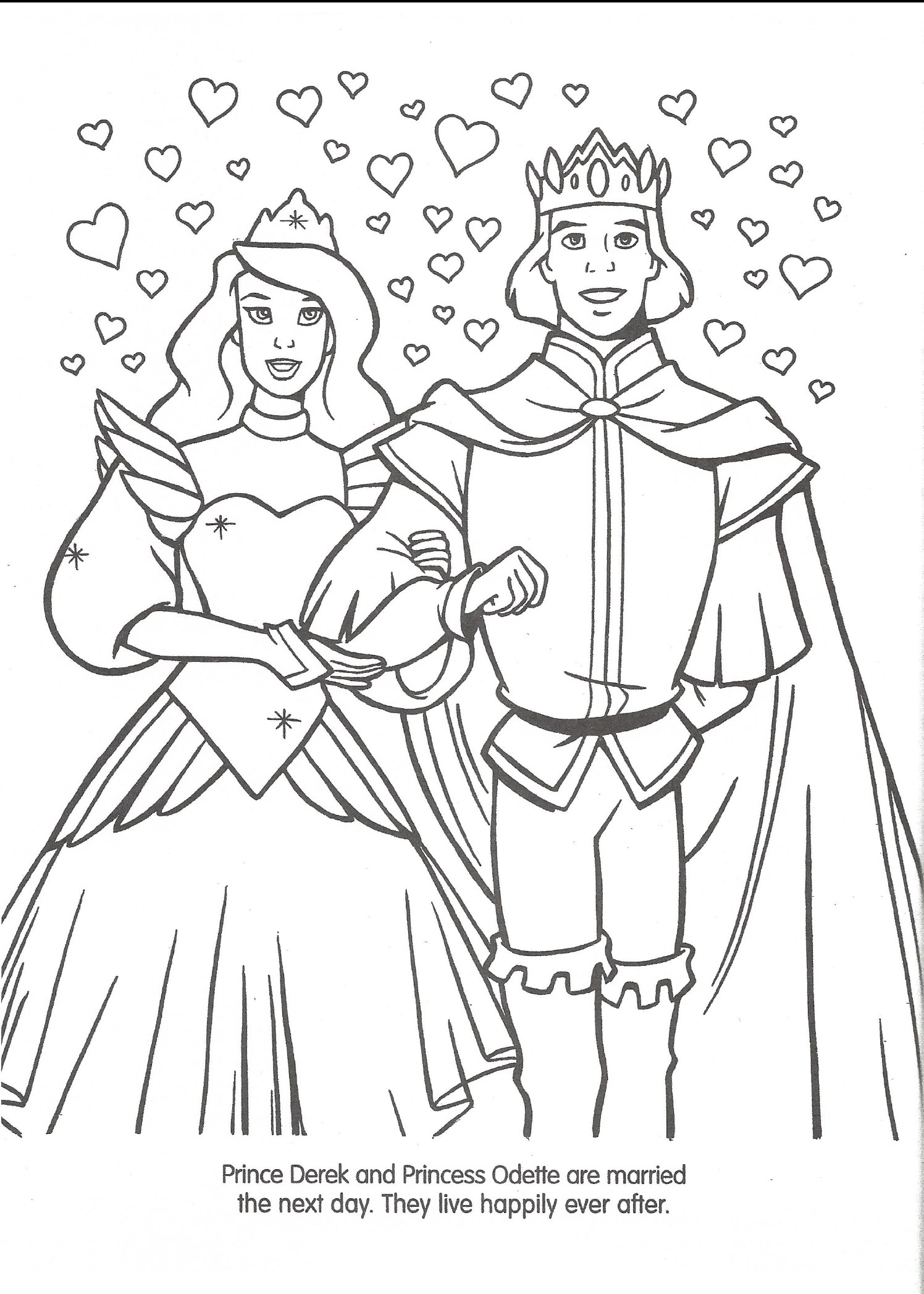 Image Swan Princess Official Coloring Page 47 The Swan