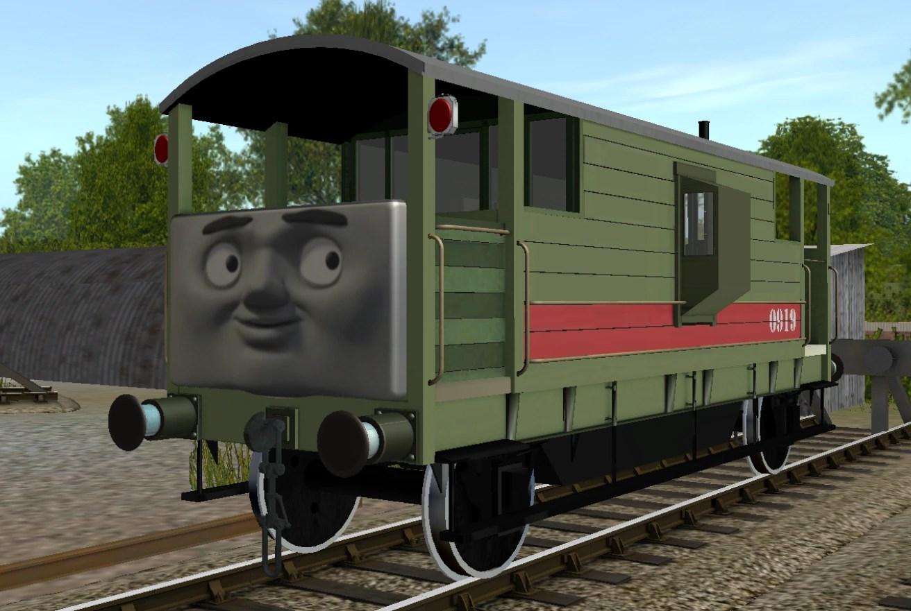 Thomas Wooden Railway Max And Monty