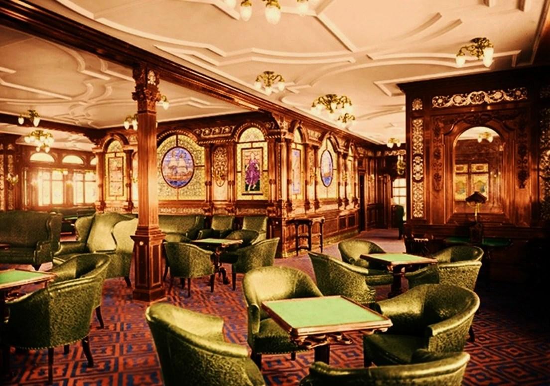 First Class Smoke Room Titanic Wiki FANDOM Powered By
