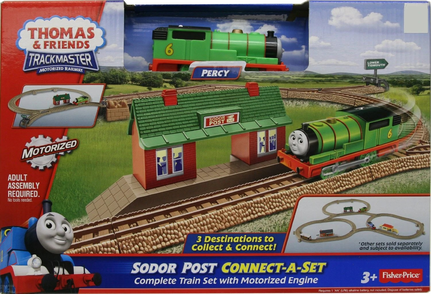 Sodor Post Connect A Set Thomas And Friends TrackMaster