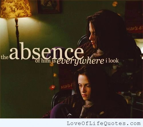 New Moon movie quotes   Twilight Saga Wiki   FANDOM powered by Wikia Twilight movie quote on absence