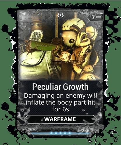 Peculiar Growth WARFRAME Wiki FANDOM Powered By Wikia