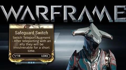 Video Safeguard Switch 1522 Mogamu WARFRAME Wiki