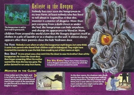 Boogeyman Weird N Wild Creatures Wiki FANDOM Powered