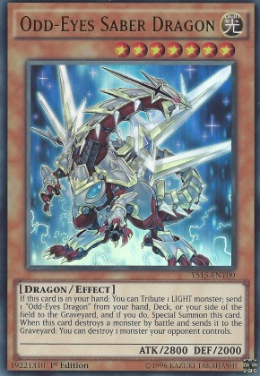 Odd-Eyes Saber Dragon