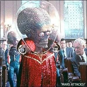 Martian (Mars Attacks!) | Alien Species | FANDOM powered ...