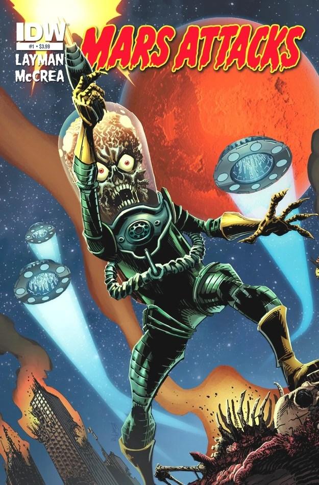 Mars Attacks | Comic Book Series | Fandom powered by Wikia