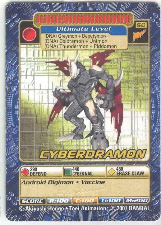 Cyberdramon Digimonwiki Fandom Powered By Wikia