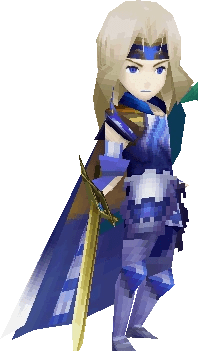 Image Paladin Cecil Battle Render IOSPNG Final