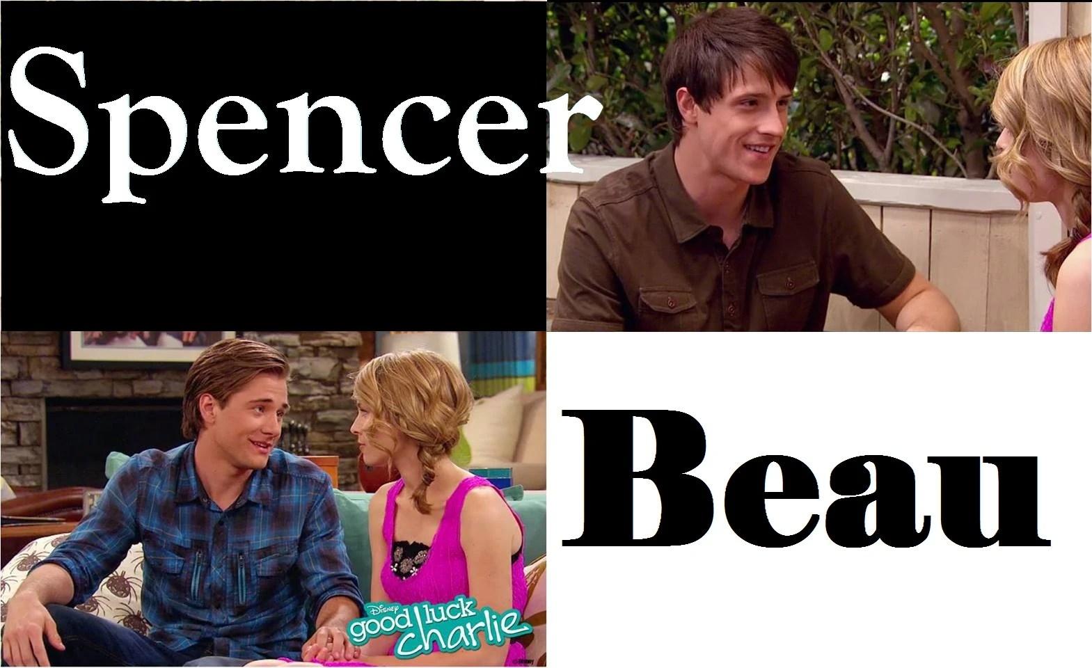 Beau Luck Charlie Good Spencer Vs