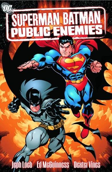 Poster do filme Superman/Batman: Inimigos Públicos