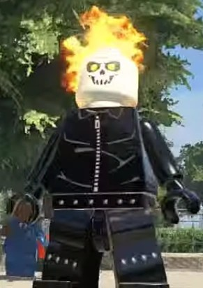 Ghost Rider Lego Marvel And DC Superheroes Wiki Fandom
