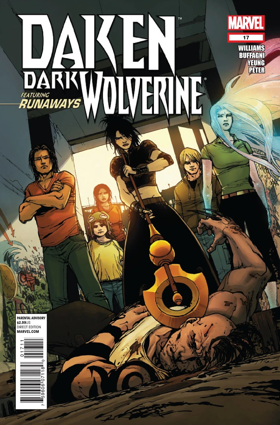 Daken Dark Wolverine Vol 1 17 Marvel Database FANDOM