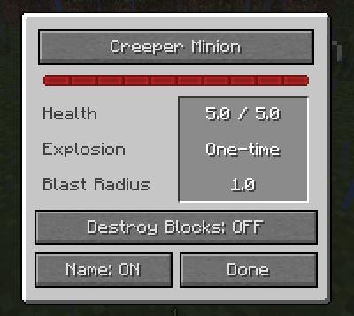 Creeper Stats Minecraft Mods Wiki FANDOM Powered By Wikia