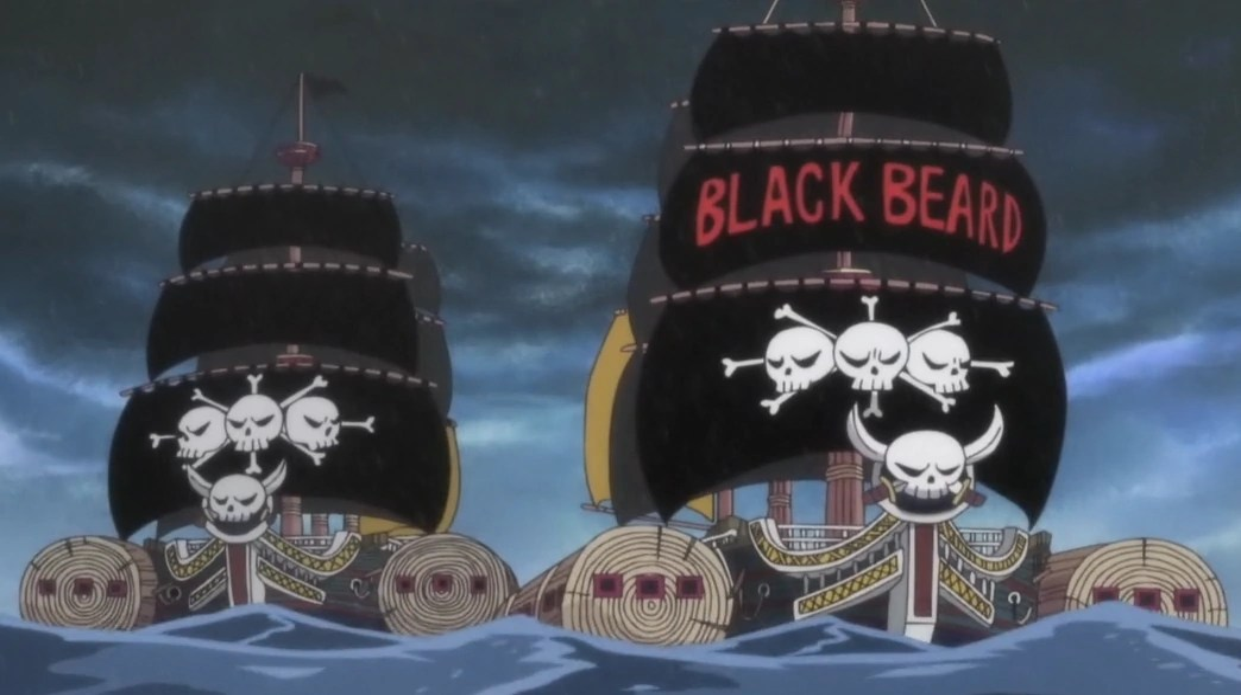 Imagem Blackbeard Pirates Post Timeskip Shipspng One