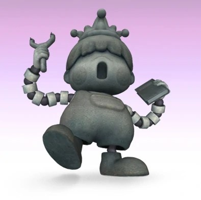 Porky Statue Smashpedia FANDOM Powered By Wikia